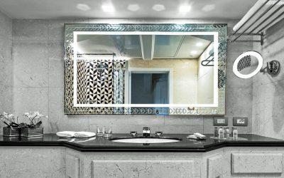 Specchiera personalizzata con incisione in vetro