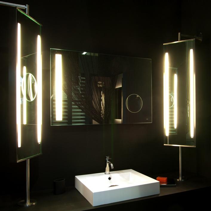 specchiera illuminata Turnable LED